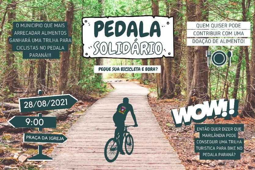 Marilândia realiza 'Pedala Solidário' no próximo sábado
