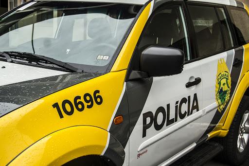 Hilux da Prefeitura foi tomada de assalto em Ortigueira