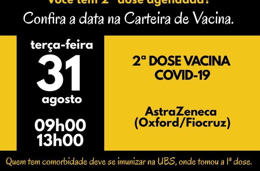 Ivaiporã abre novo grupo para vacinação contra covid-19