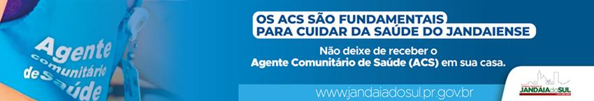 JANDAIA DO SUL – Agente Comunitário de Saúde