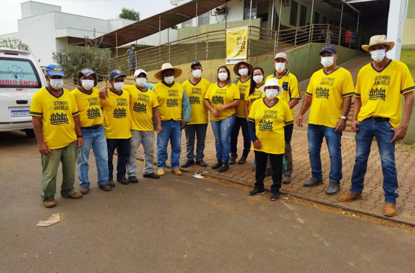 Corumbataí do Sul realiza passeata do Setembro Amarelo