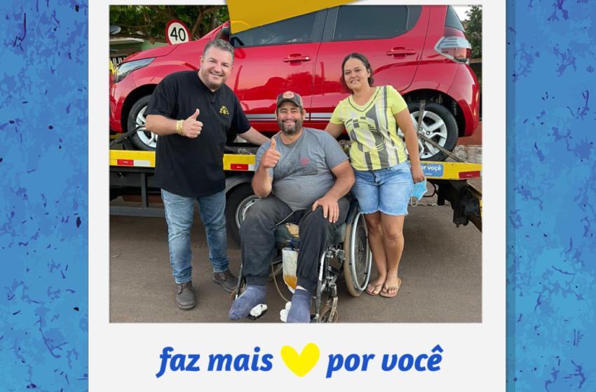 """Vale Sorte grava quadro """"Faz mais por Você"""" em Novo Itacolomi"""