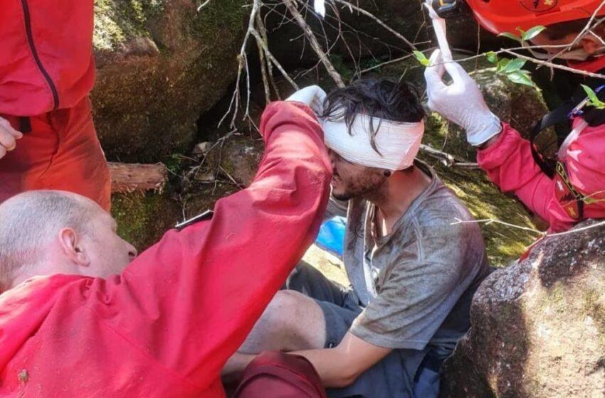 Jovem é resgatado após seis dias desaparecido no Pico Paraná