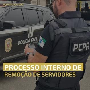 PCPR publica portarias do 1º Processo Interno de Remoção de Servidores