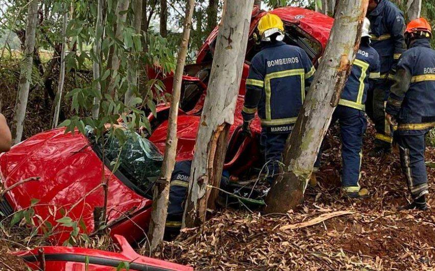 Mulher morre em trágico acidente na PR-492