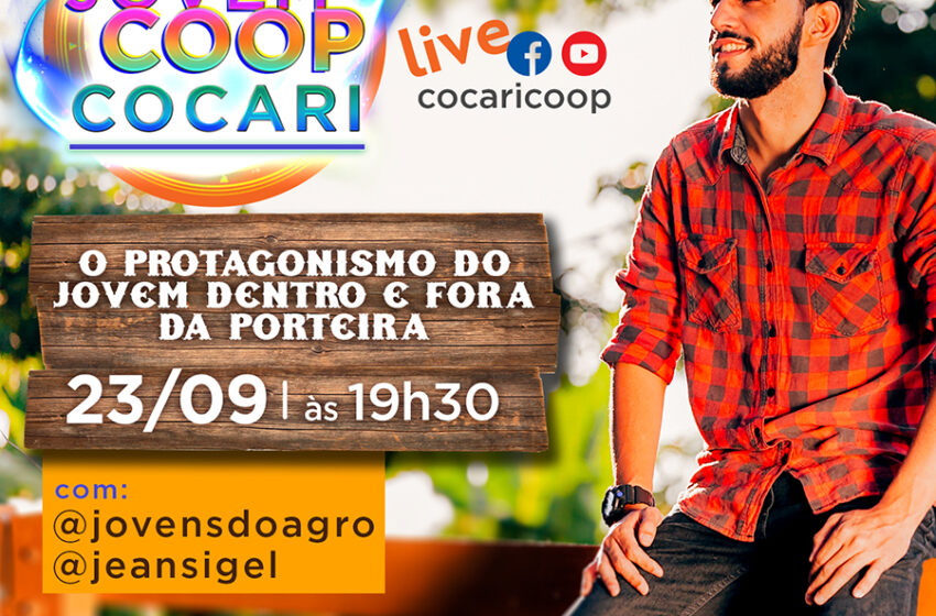 COCARI: Vem aí a segunda edição da live Conexão Jovemcoop