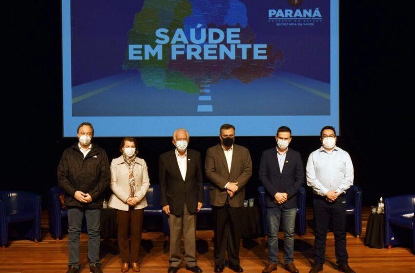 Prefeito de Marilândia do Sul participa do anúncio de ações e investimento pós pandemia
