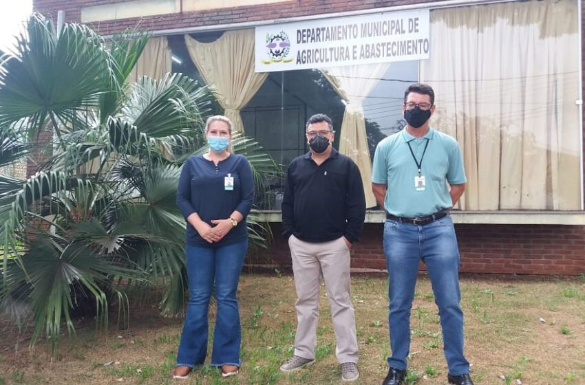 Departamento de Agricultura da Prefeitura e Campus do IFPR de Ivaiporã estudam parcerias em benefício da agricultura familiar