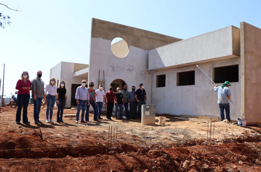 Prefeitura de Ivaiporã investe R$70 mil para acelerar construção da UBS do Jacutinga