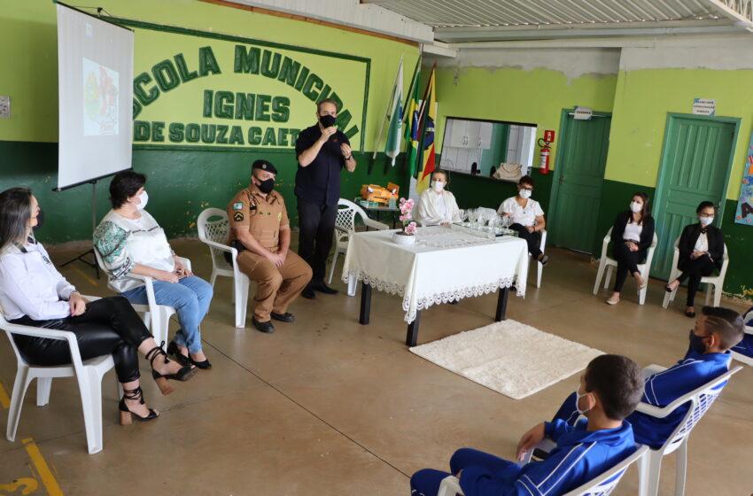 Polícia Militar e Prefeitura de Ivaiporã retomam Proerd nas escolas municipais