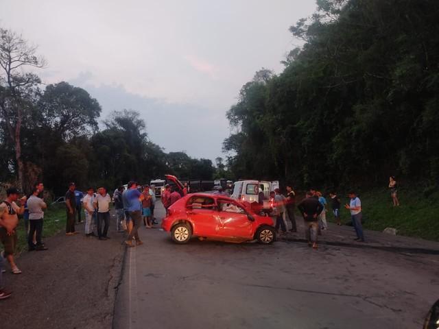 Acidente grave deixa três mortos e um ferido na PR-460 em Nova Tebas