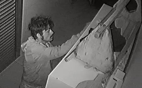 Polícia prende homem que furtou Santuário Santa Rita de Cássia em Lunardelli