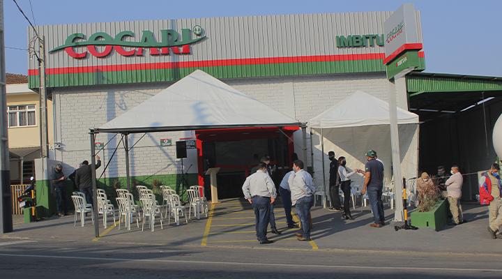 Produtores de Imbituva e região contam com nova unidade da Cocari