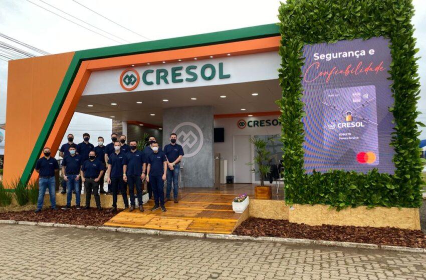 Cresol lança ferramenta para agilizar o processo de contratação de crédito na Expointer
