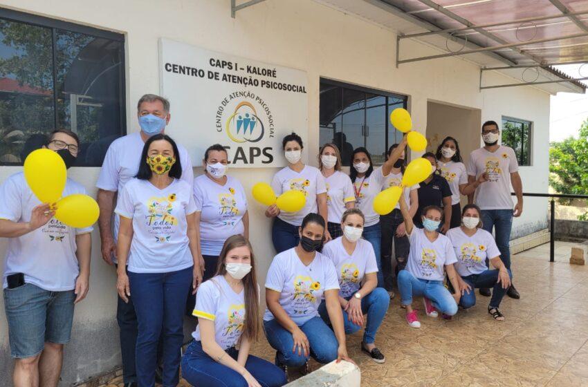 "Kaloré desenvolve a abertura da campanha ""Setembro Amarelo"""