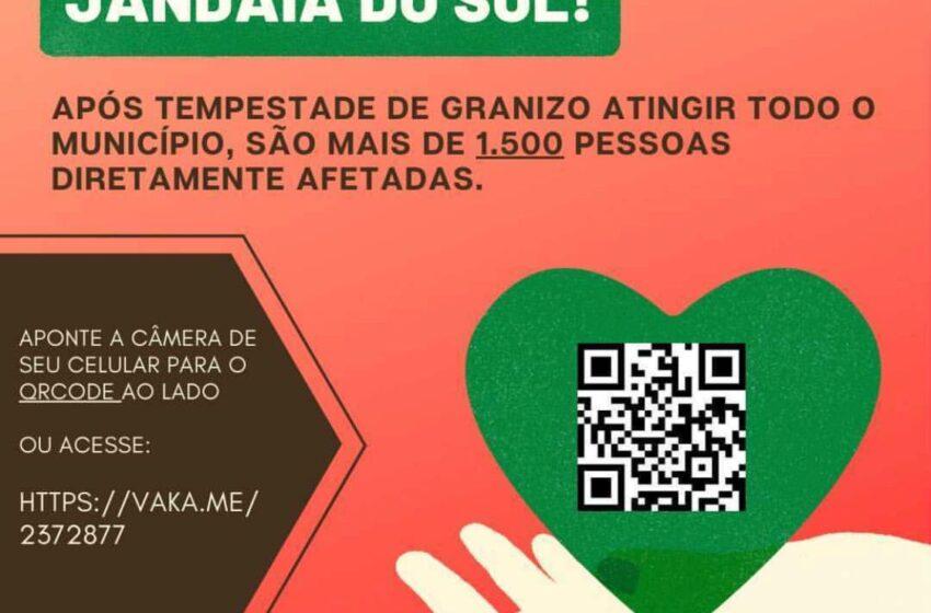 CAMPANHA – Arrecadação de doações para colaborar com o município de Jandaia do Sul