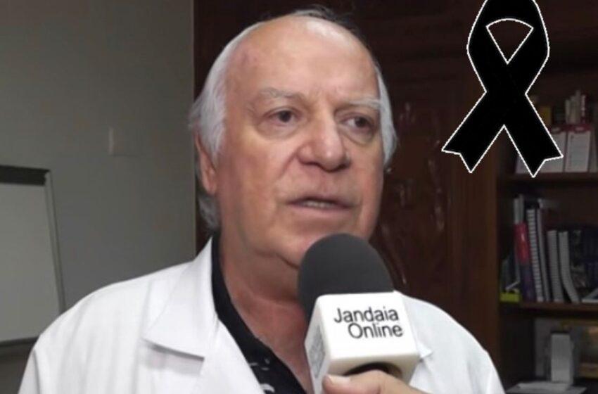 Comoção com a morte do médico Dr Valduino Geraldini em Jandaia do Sul
