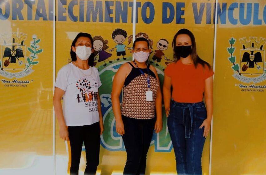 Primeira dama Kelly Wicthoff e secretaria municipal de social visitaram o município de Iguaraçu para conhecer projetos e implantar em Mauá da Serra