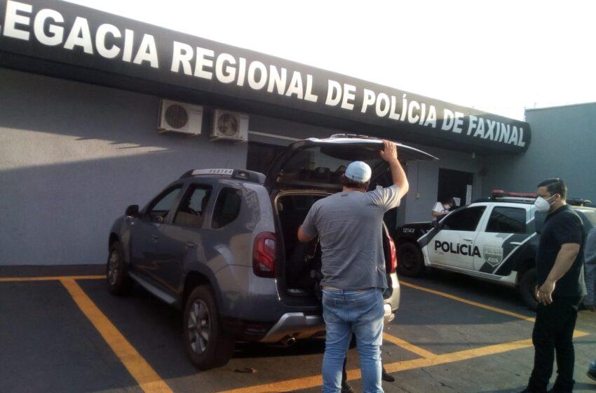 Homem foragido é recapturado pela Polícia Civil de Faxinal