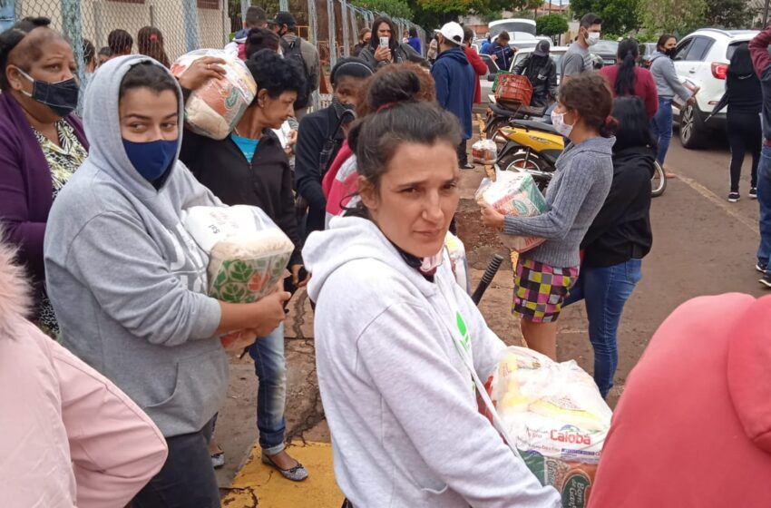 Central Única das Favelas em parceria com CCr realizam ação social em Califórnia