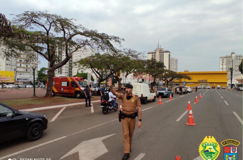 10º Batalhão de Polícia Militar inicia a semana nacional de trânsito