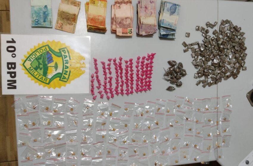 Duas mulheres foram presas no feriado, acusadas de tráfico em Mauá da Serra