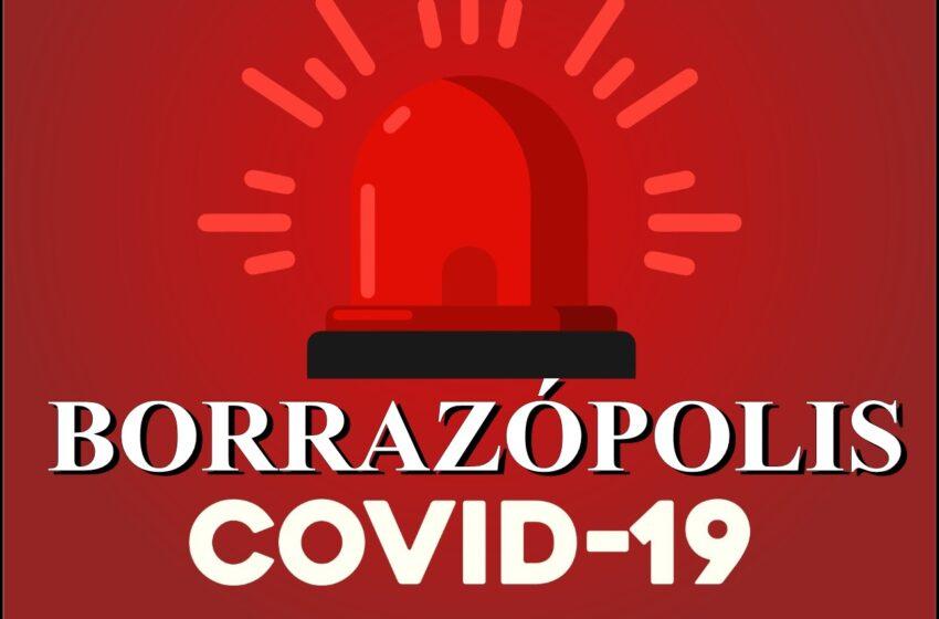 Borrazópolis volta a registrar aumento record em novos casos de Covid-19