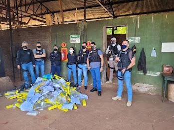 Polícia de Apucarana incinera mais de 530 Kg de drogas