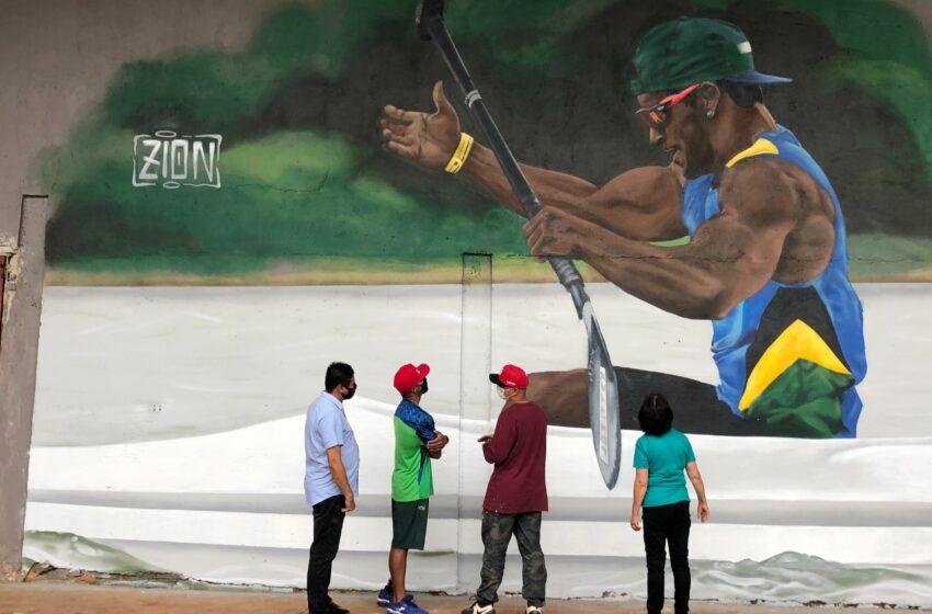 Giovane Vieira de Paula recebe homenagem no Ginásio de Esportes Lagoão