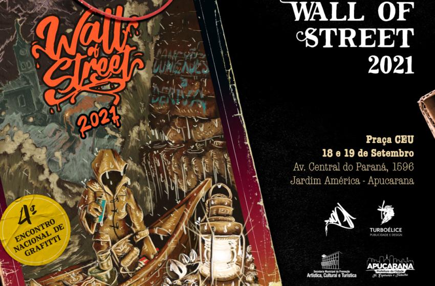 Encontro de grafiteiros terá 40 artistas de oito estados em Apucarana