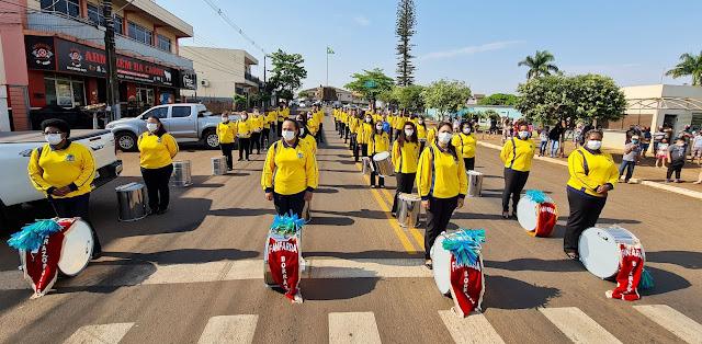 Desfile do Dia 7 de Setembro em Borrazópolis