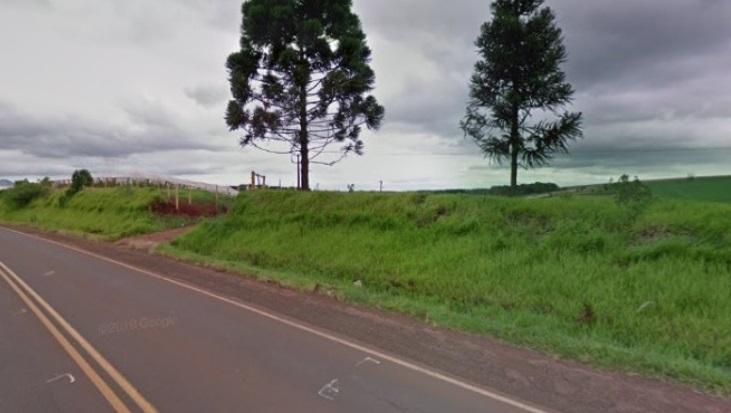 Cadáver é encontrar as margens da rodovia, próximo a Faxinal