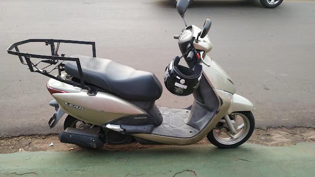 Condutora sofre acidente de moto em Ivaiporã