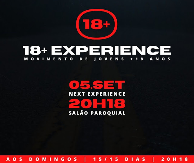 BORRAZÓPOLIS – 18+ Experience no Salão Paroquial