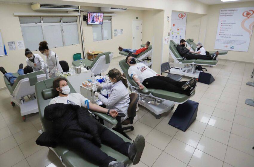 Secretaria da Saúde alerta sobre importância da doação sangue