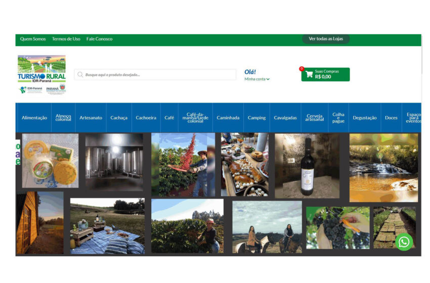 Feira internacional digital de turismo rural mostra produtos e roteiros do Paraná