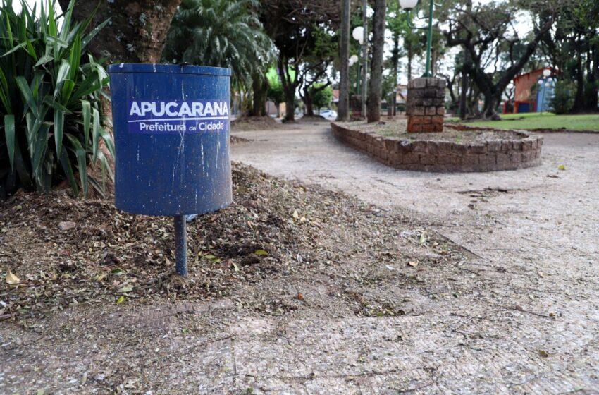 """Apucarana busca solução ambiental para """"praças do Redondo e do Clube 28"""""""