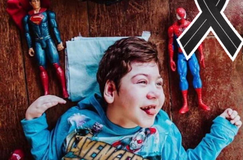 TRISTEZA EM FAXINAL – A cidade está entristecida com a morte do pequeno Mateus Camargo Martines
