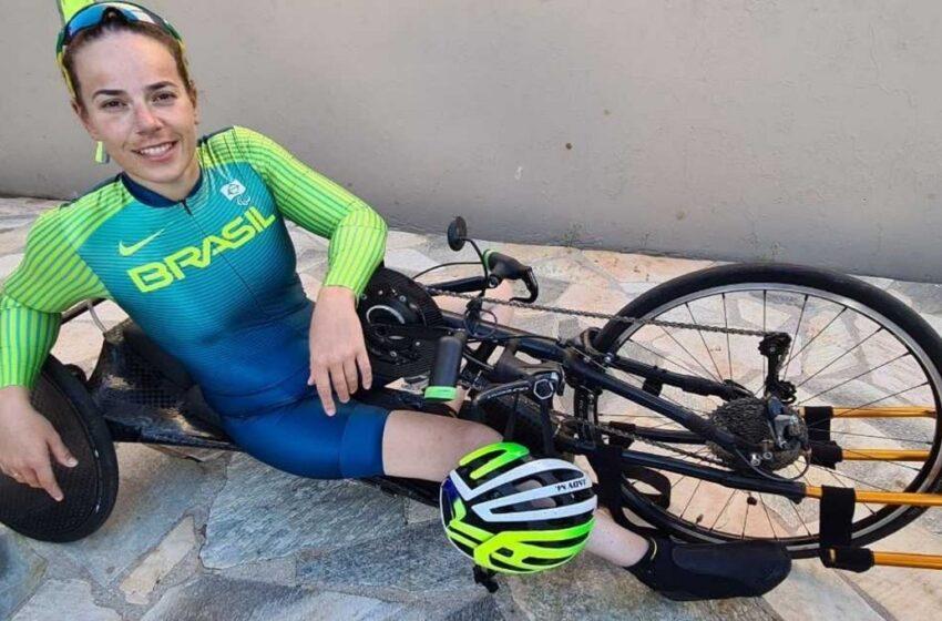 Jady Malavazzi termina em 13.º lugar no ciclismo, nos Jogos Paralímpicos