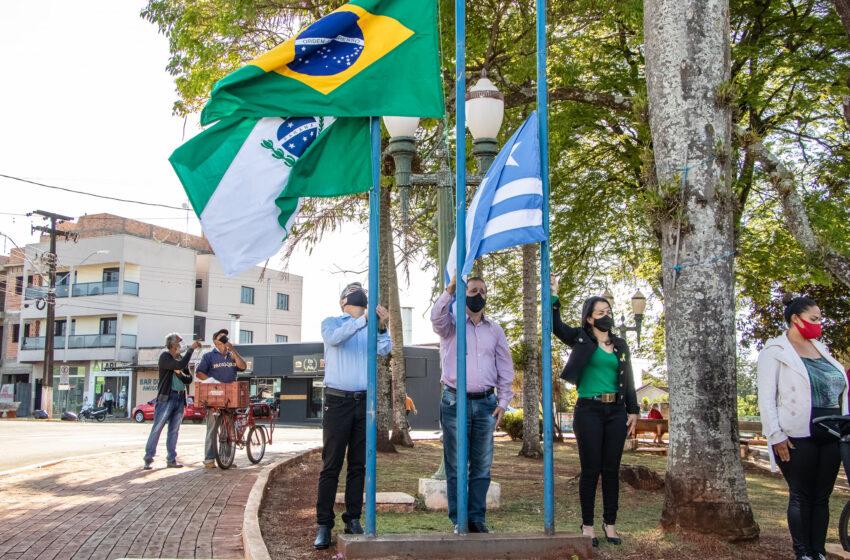 Abertura da Semana da Pátria em Jardim Alegre