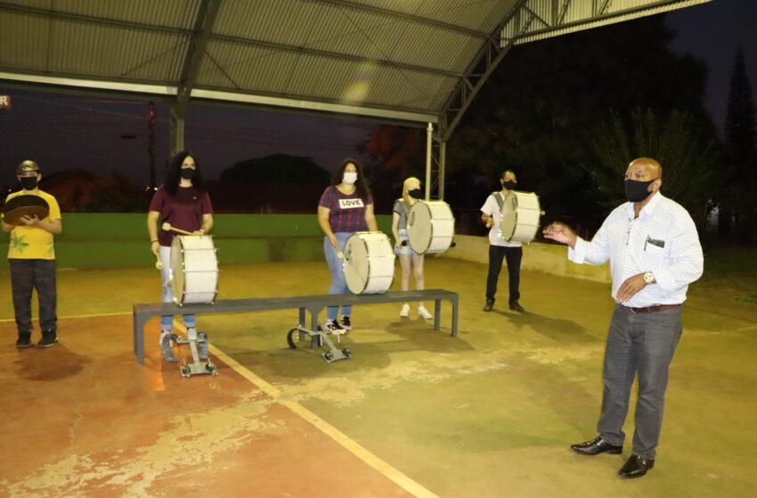 Maestro Josuel Roberto ensaia Banda Marcial Municipal para se apresentar dia 7 de setembro em Ivaiporã e distritos