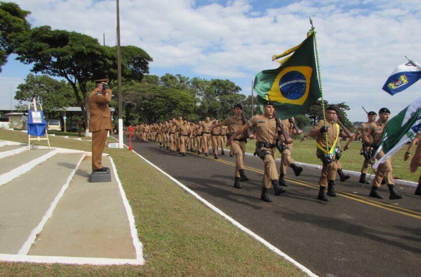 Comunicado do 10º Batalhão de Apucarana sobre o dia 7 de Setembro