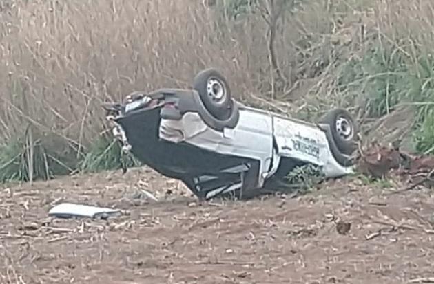 Grave acidente resultou na morte de um jovem próximo a Faxinal