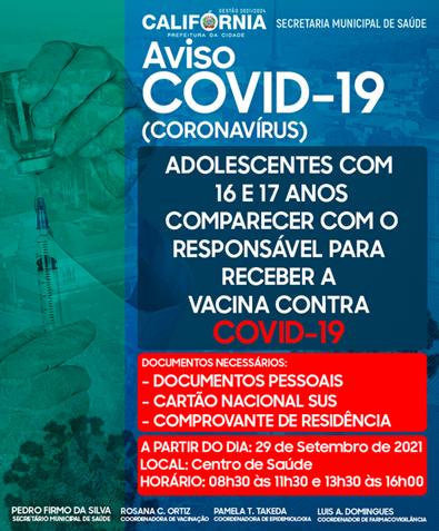 Vacinação da Covid-19 de Califórnia