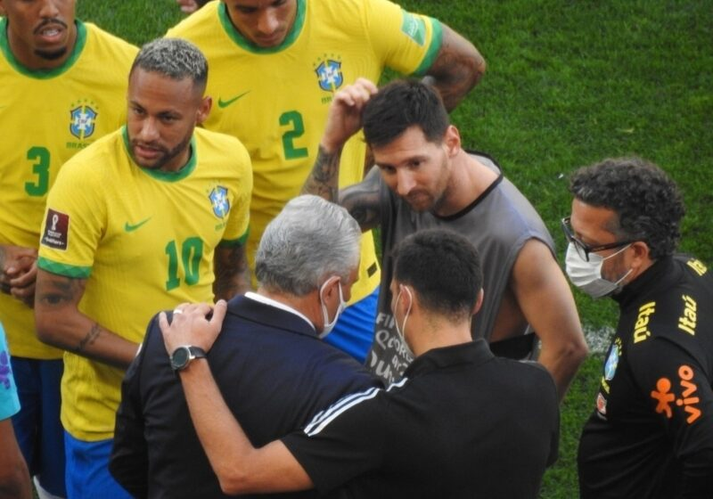 Anvisa paralisa jogo do Brasil contra a Argentina