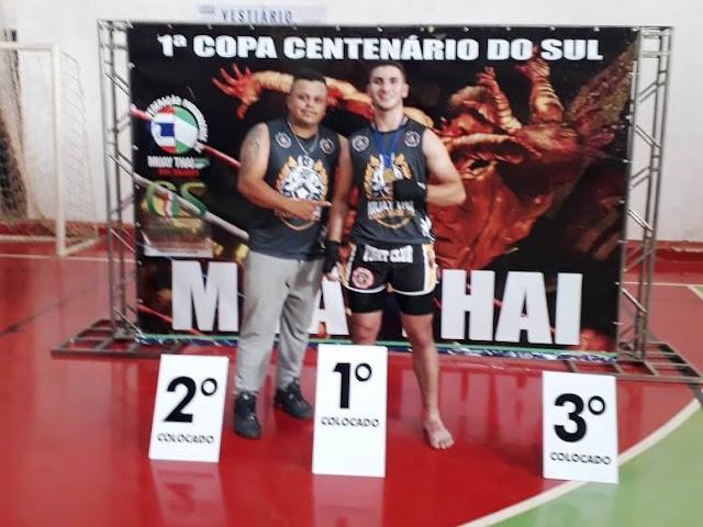 Douglas Gasparucho disputa neste sábado a 24ª Campeonato Paranaense de Kung Fu