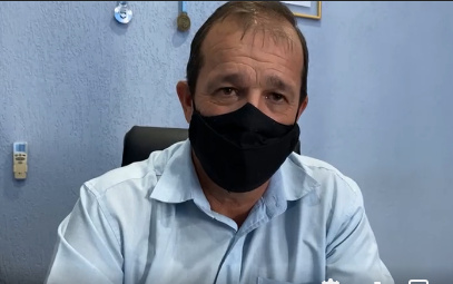 Prefeito José Roberto Furlan de Jardim Alegre concede entrevista ao Repórter do Vale