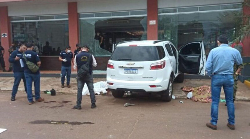 Cinco pessoas são mortas na fronteira entre Brasil e Paraguai