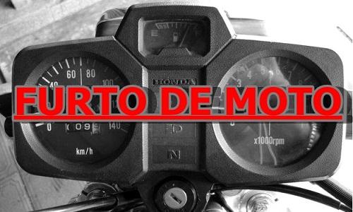 Bandidos furtaram motocicleta em Faxinal