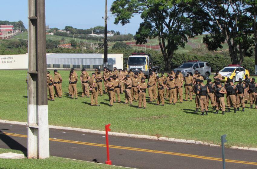 Solenidade Militar em comemoração ao 44º aniversário do 10º Batalhão de Polícia Militar
